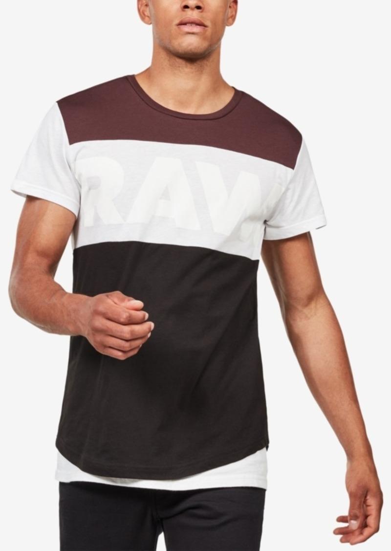 aca048278c4 G Star Raw Denim G-Star Raw Men's Starkon Colorblock T-Shirt, Created for  Macy's