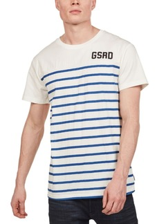 G Star Raw Denim G-Star Raw Men's Striped Front T-Shirt, Created for Macy's