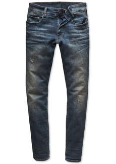 G Star Raw Denim G-Star Raw Men's Super-Slim Fit Stretch Deconstructed Jeans