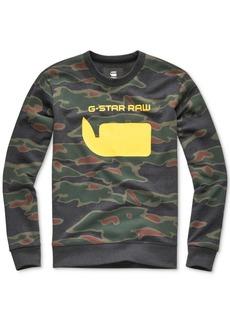 G Star Raw Denim G-Star Raw Men's Sverre Camo Sweatshirt