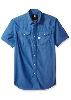 G Star Raw Denim G-Star Raw Men's Tacoma Deconstructed Shirt S/s