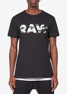 G Star Raw Denim G-Star Raw Men's Tahire Camo Logo T-Shirt, Created for Macy's