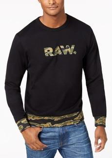 G Star Raw Denim G-Star Raw Men's Tahire Graphic Sweatshirt, Created for Macy's