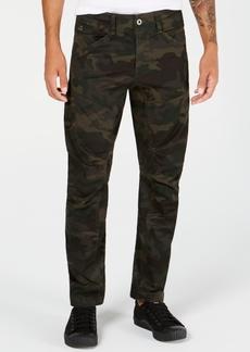G Star Raw Denim G-Star Raw Men's Tapered Camo Pants, Created for Macy's