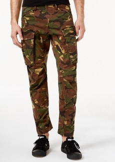 G Star Raw Denim G-Star Raw Men's Tapered Fit Stretch Camo Cargo Pants