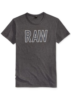 G Star Raw Denim G-Star Raw Men's Tomeo Graphic-Print Logo T-Shirt