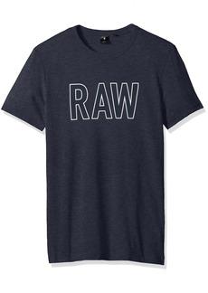 G Star Raw Denim G-Star Raw Men's Tomeo Round Neck Tee Short Sleeve