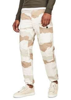 G Star Raw Denim G-Star Raw Men's Torrick Relaxed-Fit Camouflage Canvas Pants