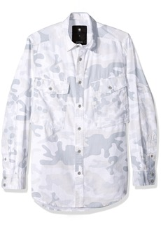 G Star Raw Denim G-Star Raw Men's Type C Straight Long Rc Shirt L/s