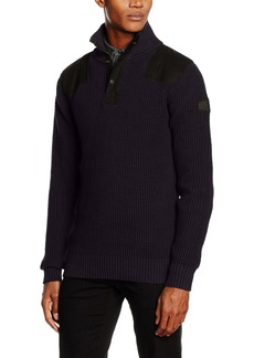 G Star Raw Denim G-Star Raw Men's Utility Half Zip Sweater