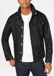 G Star Raw Denim G-Star Raw Mens Vodan Pleather Jacket, Created for Macy's