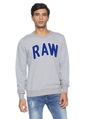 G Star Raw Denim G-Star Raw Men's Warth Crew Neck Pullover Sweatshirt