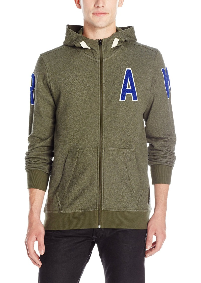 G Star Raw Denim G-Star Raw Men's Warth Full Zip Sweatshirt Hoodie