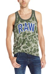 G Star Raw Denim G-Star Raw Men's Warth Raw Camo Tank Top