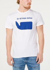 G Star Raw Denim G-Star Raw Men's Whale Logo T-Shirt, Created for Macy's