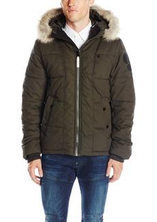 G Star Raw Denim G-Star Raw Men's Whistler Hooded Faux Fur Jacket