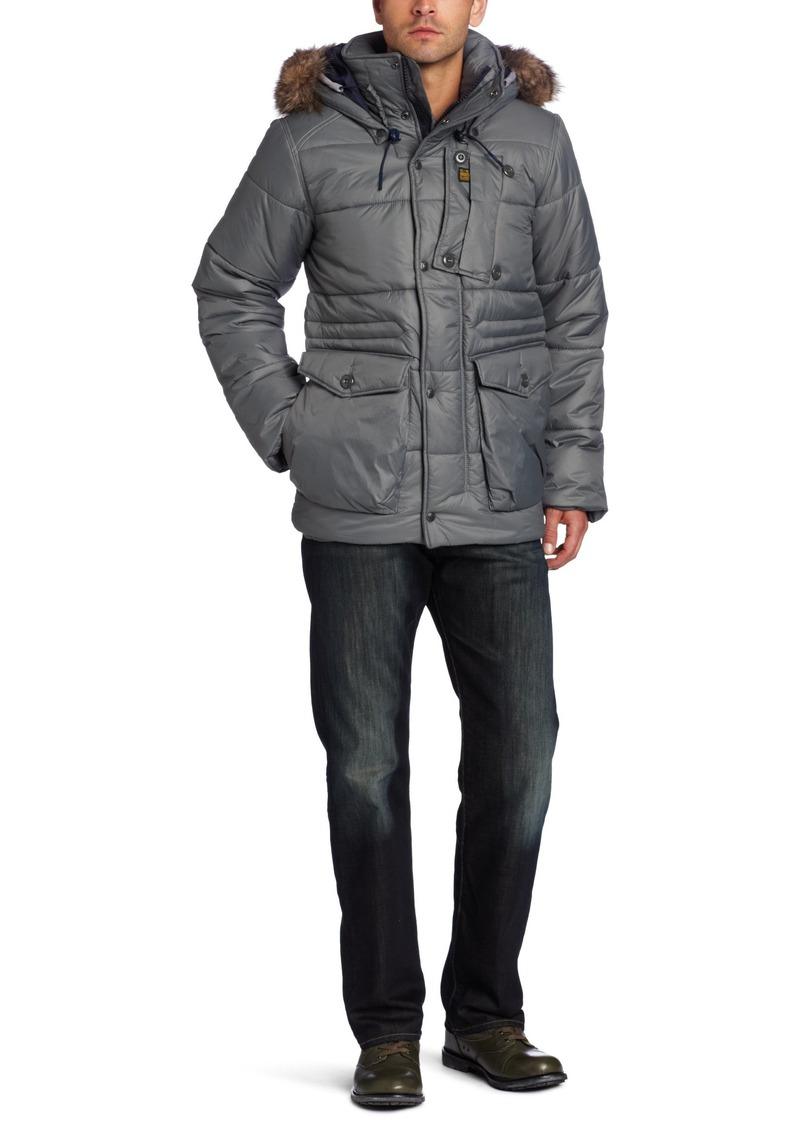 G Star Raw Denim G-Star Raw Men's Whistler Hooded Field Jacket