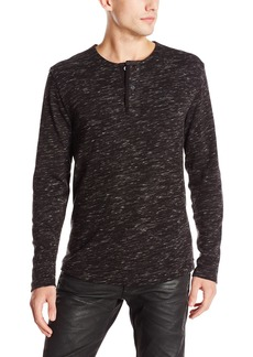 G Star Raw Denim G-Star Raw Men's Xauri Rock Jersey Long Sleeve Henley Shirt