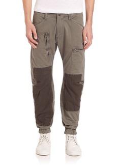 G Star Raw Denim Powel 3D Tapered Cuffed Trousers