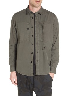 G Star Raw Denim G-Star Raw Powel Zip Pocket Shirt