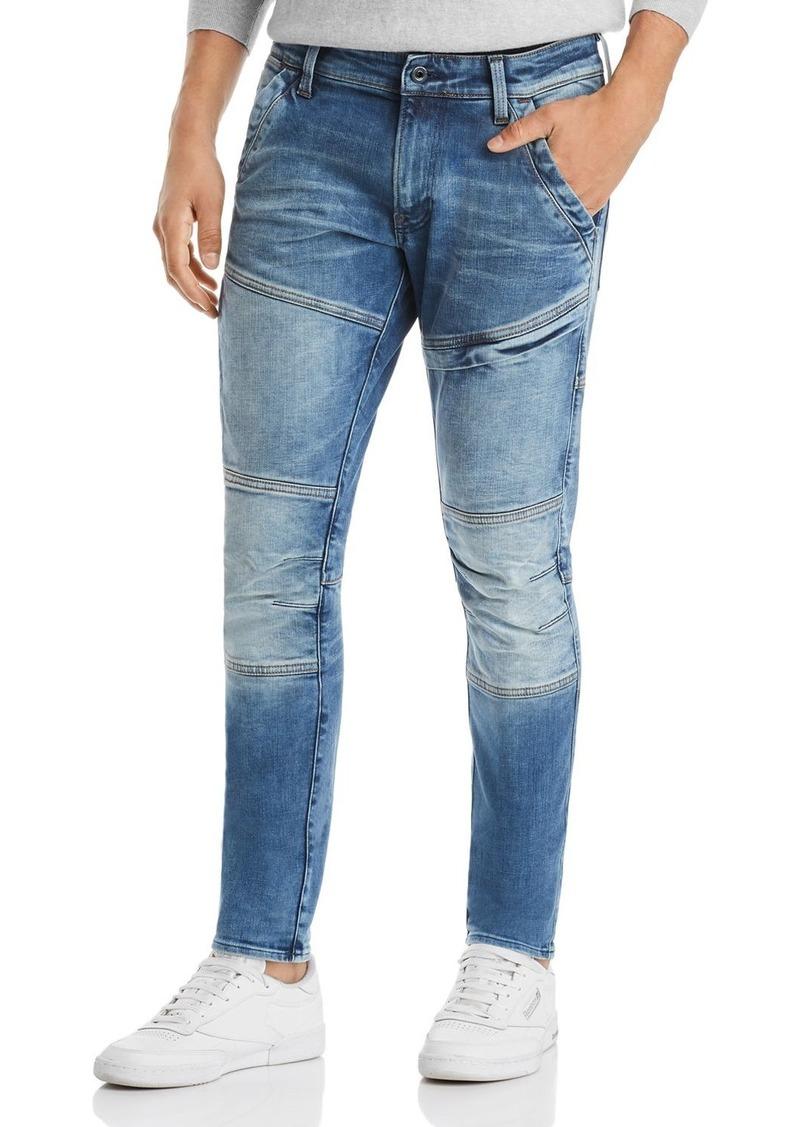 G Star Raw Denim G-STAR RAW Rackam 3D Skinny Fit Jeans in Faded Medium Aged