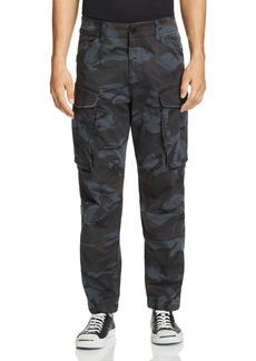 G Star Raw Denim G-STAR RAW Rovic 3D Straight Tapered Camouflage-Print Cargo Pants