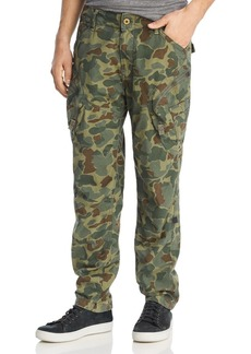 G Star Raw Denim G-STAR RAW Rovic Airforce Camouflage-Print Relaxed Fit Cargo Pants