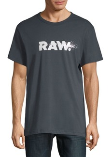 G Star Raw Denim Short-Sleeve Cotton Tee