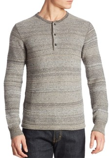 G Star Raw Denim Striped Wool-Blend Henley