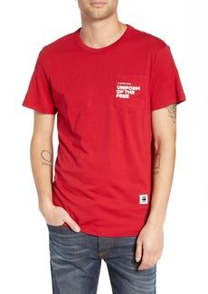 G Star Raw Denim G-Star Raw UOTF Pocket T-Shirt