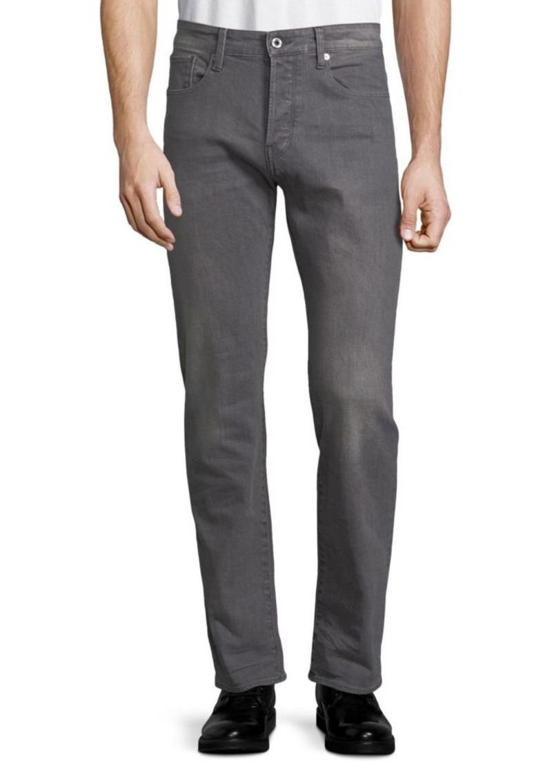 G Star Raw Denim Washed Jeans