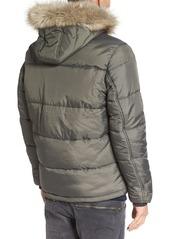 G Star Raw Denim G-Star Raw Whistler Faux Fur Trim Jacket