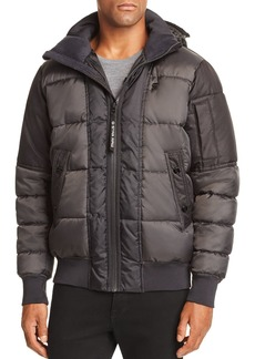 G Star Raw Denim G-STAR RAW Whistler Quilted Hooded Bomber