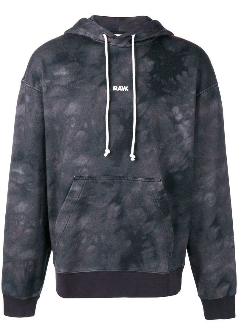 G Star Raw Denim G-Star Raw x Jaden Smith logo print hoodie