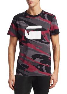 G Star Raw Denim Zeabel MC Patterned T-Shirt