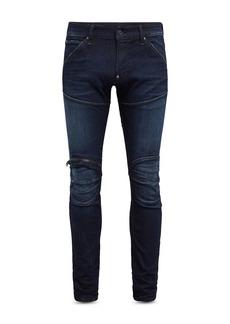 G Star Raw Denim G-STAR RAW Zip Knee Skinny Jeans