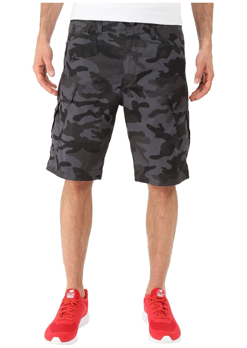 G Star Raw Denim G-Star Recroft Tapered Bermuda in New Auth Camo Night All Over