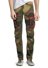 G Star Raw Denim Rovic Mix 3D Camouflage Zip Cargo Pants