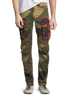 G Star Raw Denim Rovic Mix 3D Camouflage Zip Cargo Pants