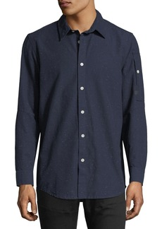 G Star Raw Denim Stalt Clean Lightweight Premium Denim Shirt