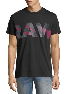 G Star Raw Denim Zeabel Graphic Cotton T-Shirt