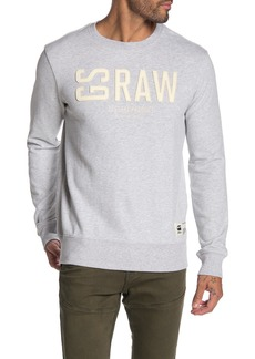G Star Raw Denim Graphic 17 Core Pullover