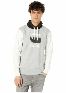 G Star Raw Denim Graphic 19 Core Long Sleeve Hooded Sweatshirt