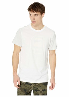 G Star Raw Denim Graphic 3 Round Neck Short Sleeve T-Shirt