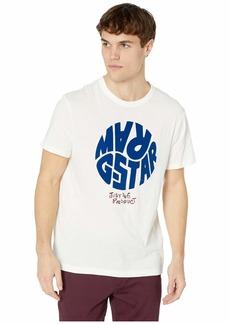 G Star Raw Denim Graphic 6 Round Neck Short Sleeve T-Shirt