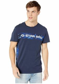 G Star Raw Denim Graphic 7 Round Neck Short Sleeve Tee
