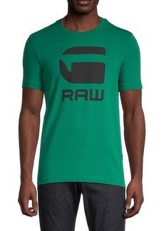 G Star Raw Denim Graphic Crewneck T-Shirt