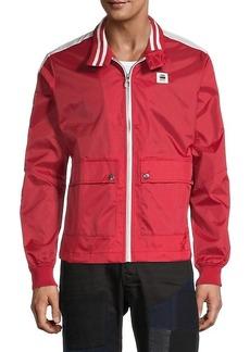 G Star Raw Denim Graphic Full-Zip Jacket