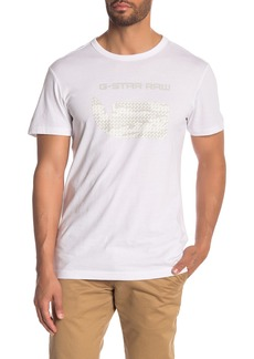 G Star Raw Denim Graphic Logo Print Organic Cotton T-Shirt