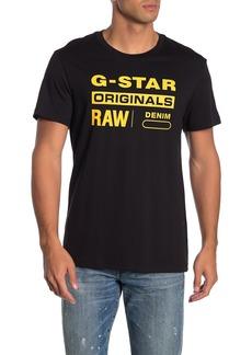 G Star Raw Denim Graphic Logo T-Shirt
